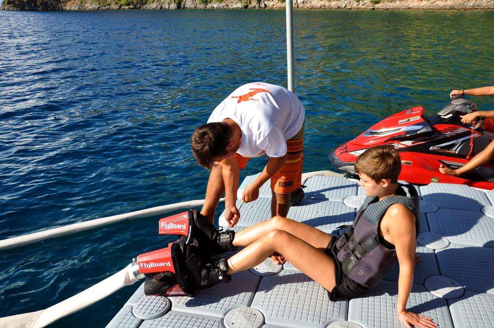 Reiseblog - Flyboard in der Türkei