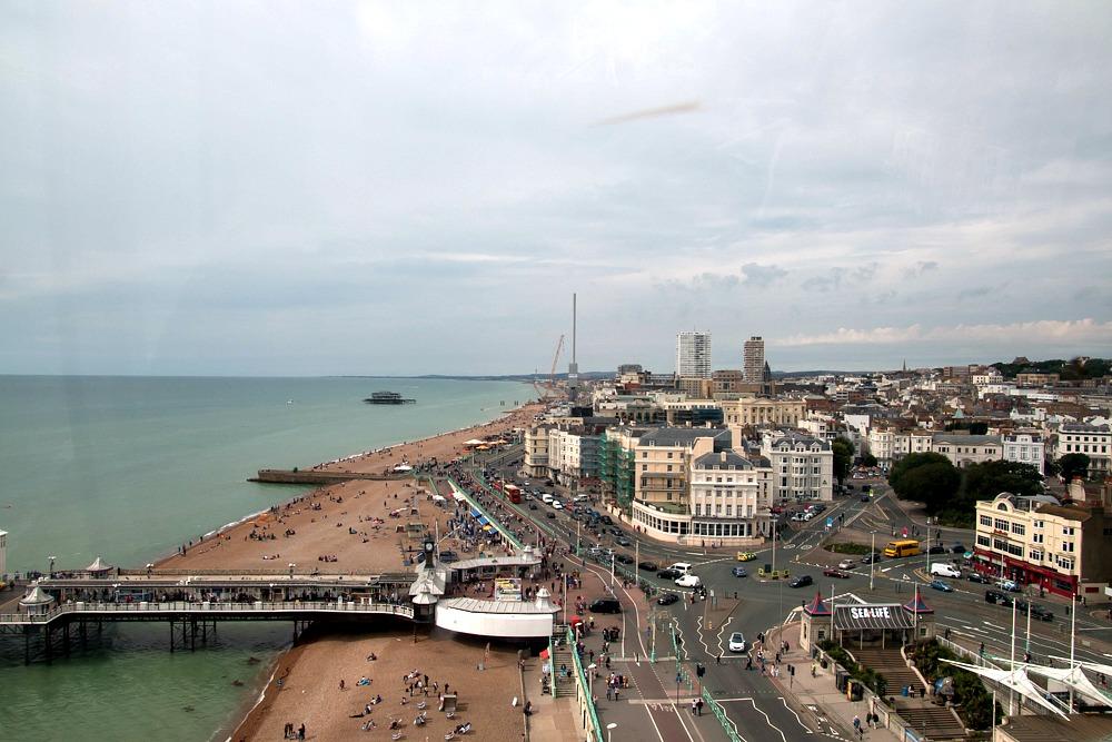 Ausblick Brighton Wheel Riesenrad