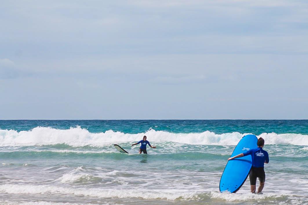 Australien Coolum Surfen 1