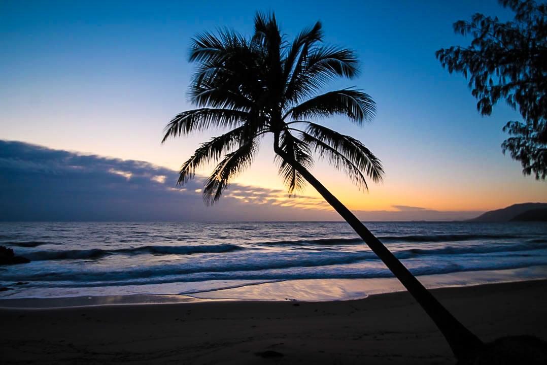 Australien Queensland Sonnenuntergang