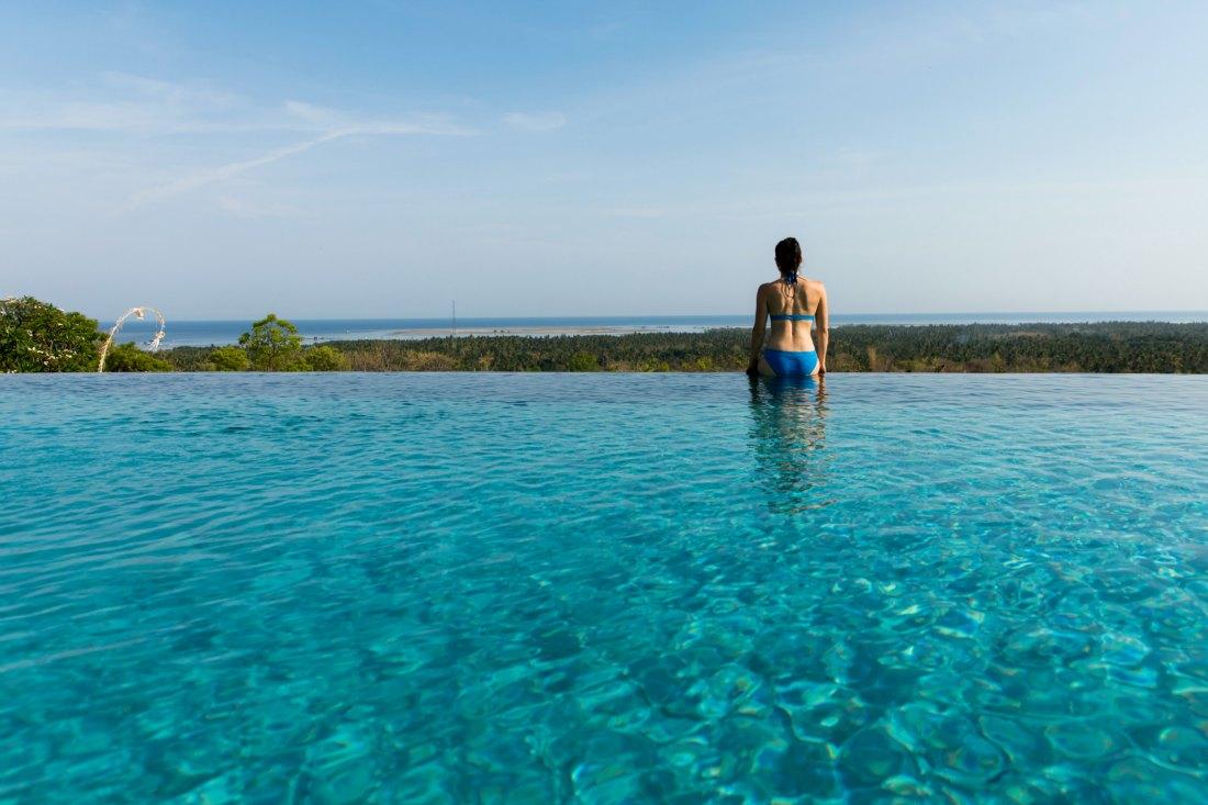 Infinity Pool auf Bali Indonesien