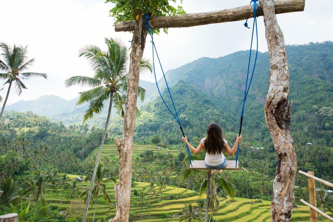 Bali Schaukel Swing Indonesien