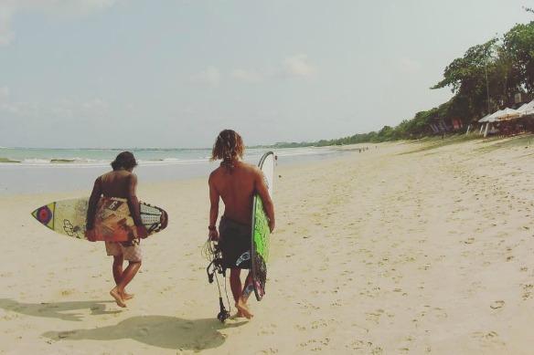 Bali - Surfen