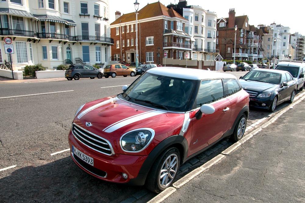 England Roadtrip mit dem Mini Paceman