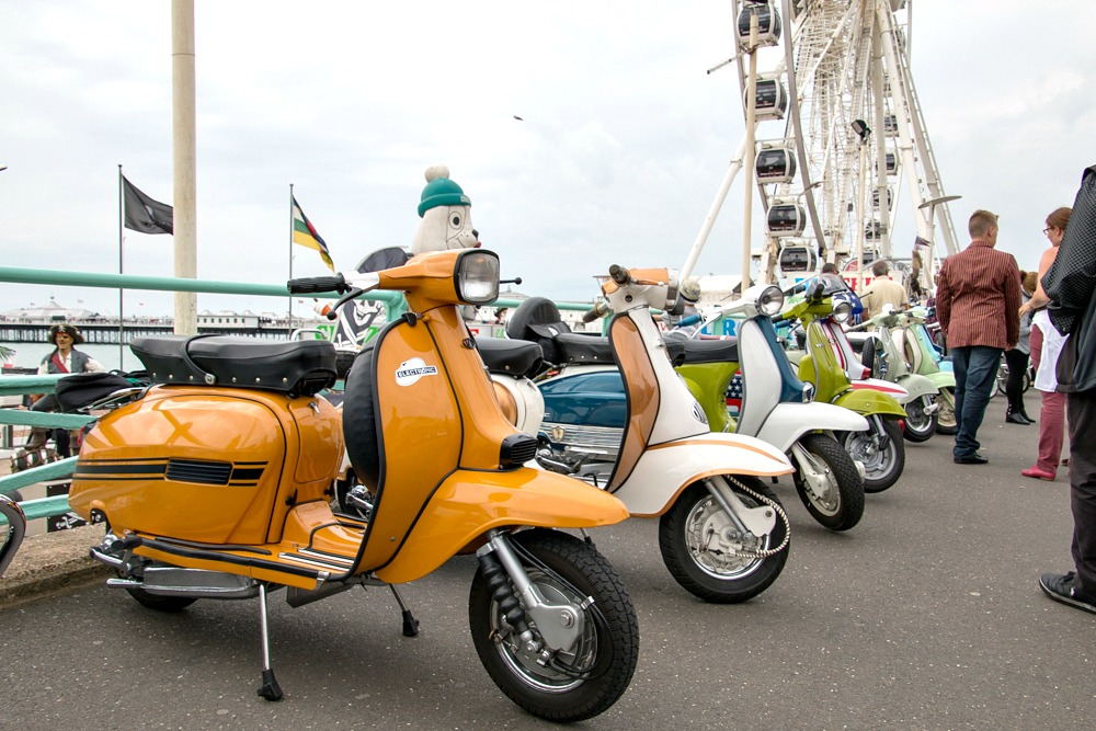 Mod Roller in Brighton