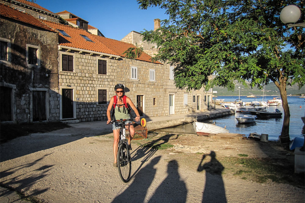 Radfahren in Kroatien