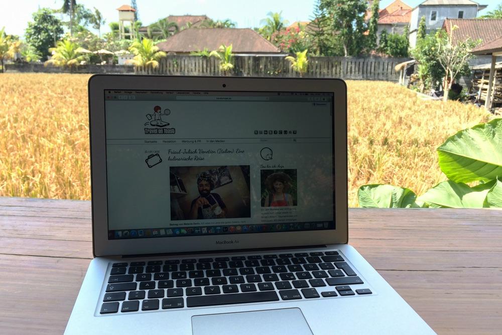 Reiseblog auf Bali