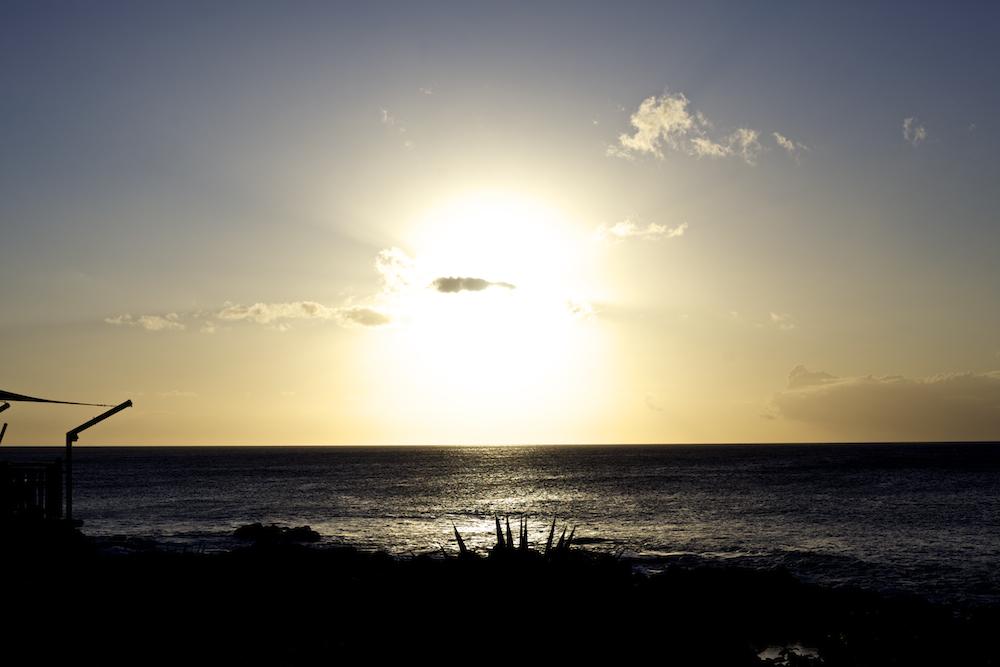 Mauritius Sonnenuntergang Flitterwochen