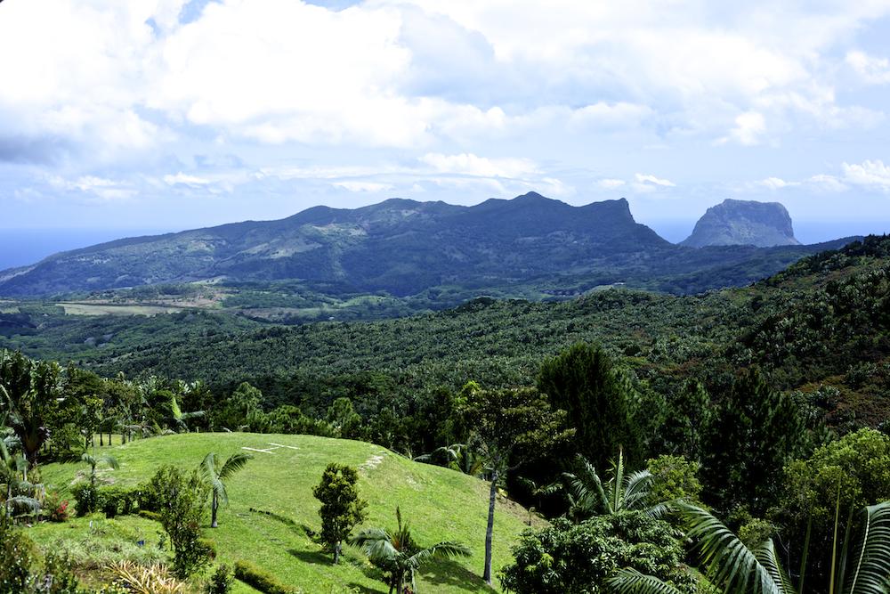 Reiseblogs - Mauritius Restaurant Varangue Sur Morne Ausblick