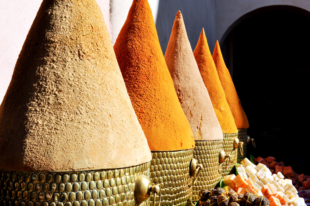 Marrakesch Marokko Souk
