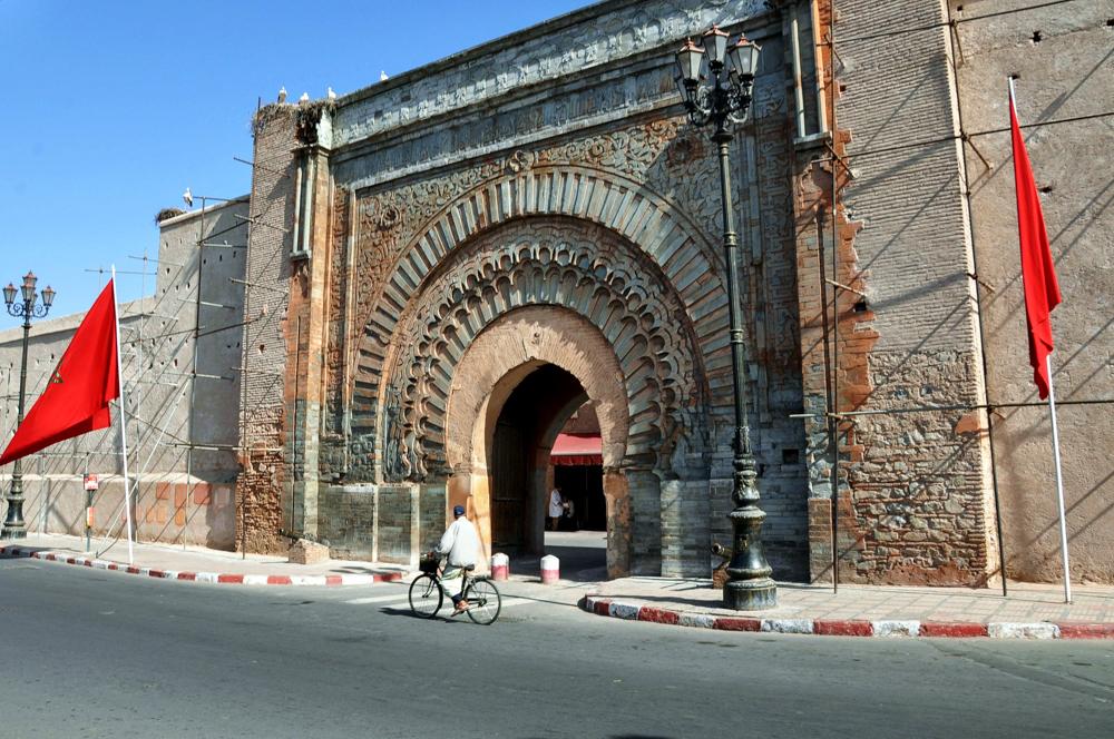 Marrakesch Medina Stadttor Stadtmauer
