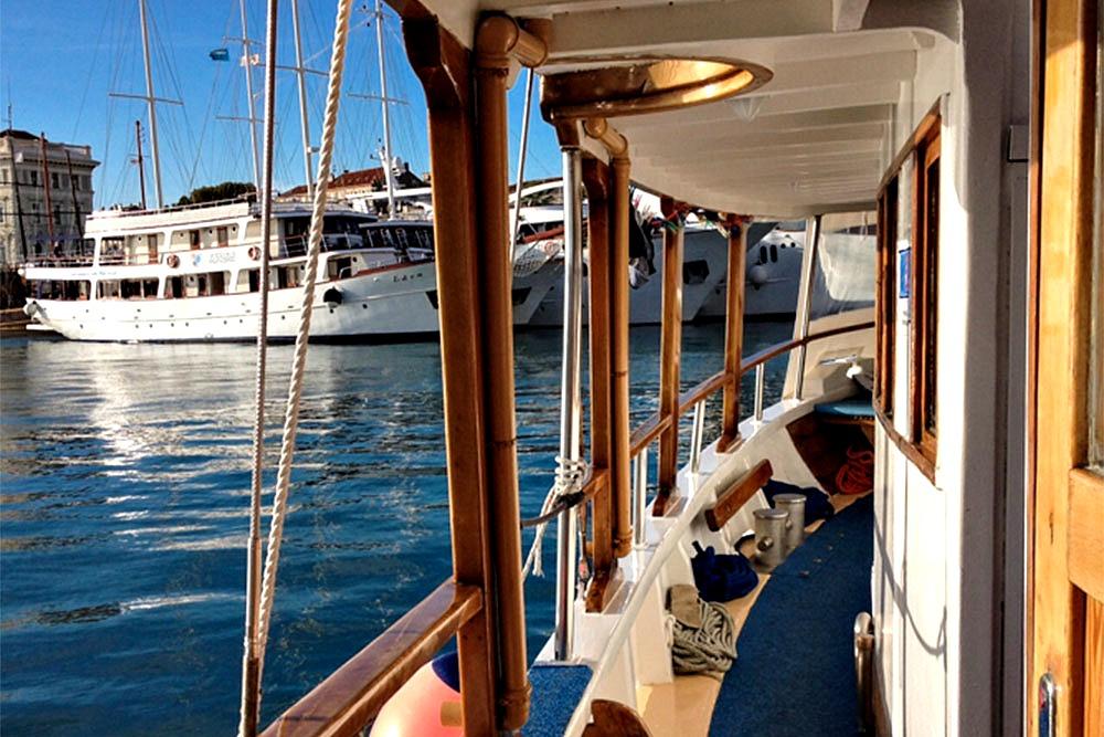 3. Kroatien - Kreuzfahrt mit Motorsegler MS Mirabela