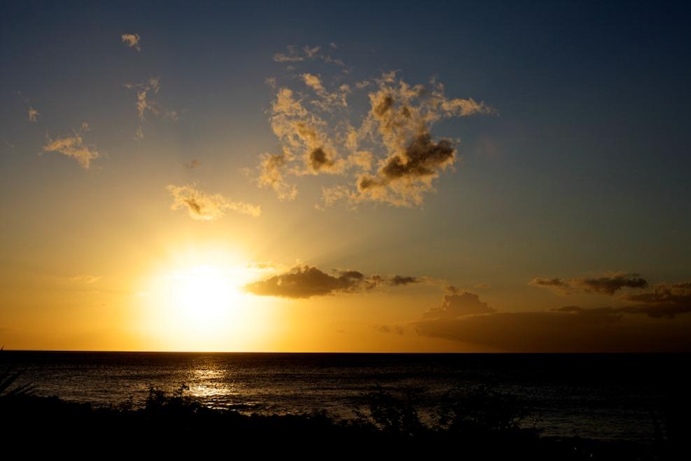 Mauritius Sonnenuntergang