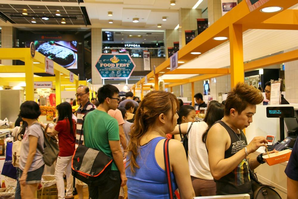 Markt in Singapur
