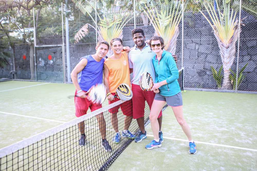 Padel-Tennis auf Lanzarote