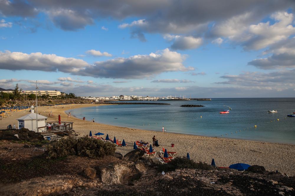 Strandpromenade Playa Blanca