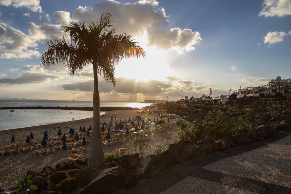 Kanaren Lanzarote Playa Blanca