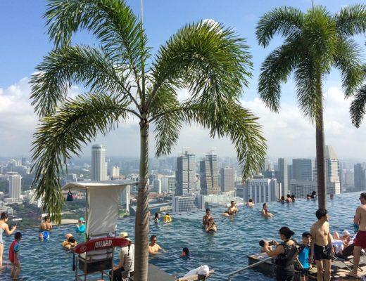 Infinity Pool in Singapur