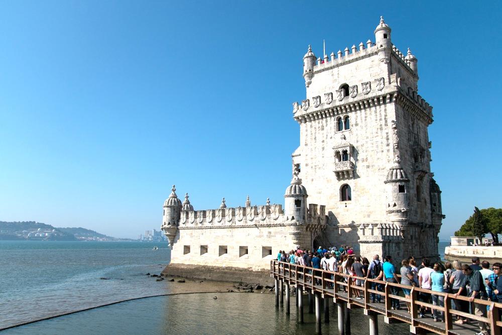 Torre de Belém Lissabon - Reiseblogs