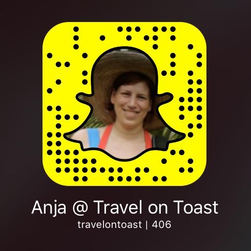 Snapchat @travelontoast