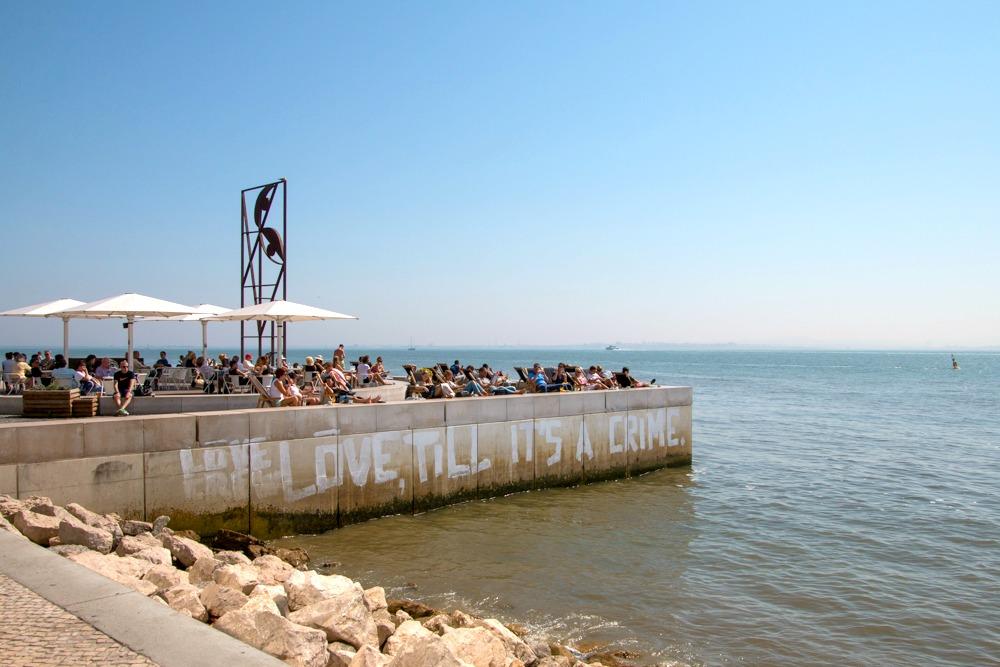 Tejo Lissabon Portugal