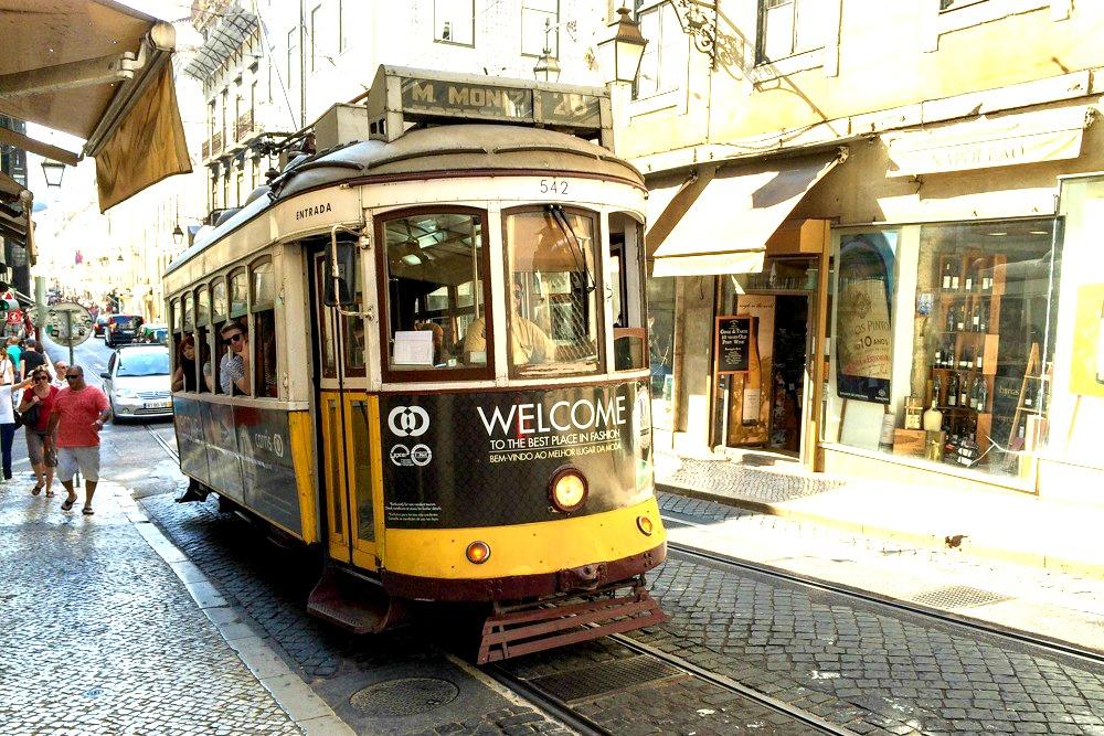 Tram 28 E Lissabon Portugal Reiseblogs