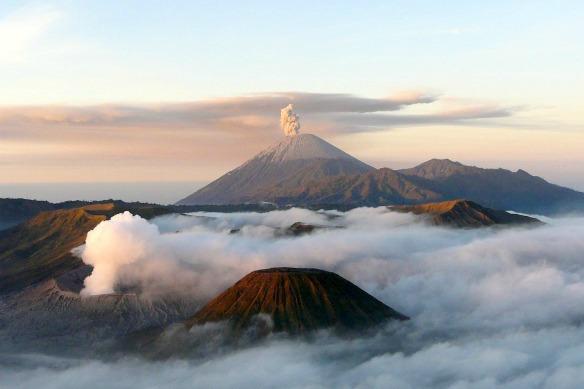 Vulkan Bromo Indonesien