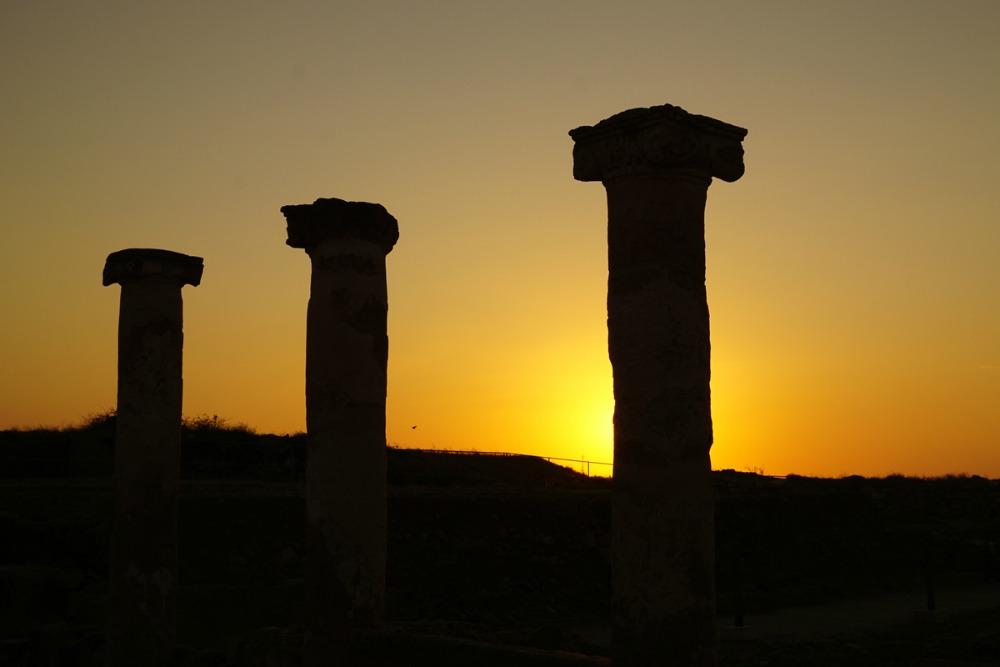 Zypern Sonnenuntergang Paphos Reiseblog