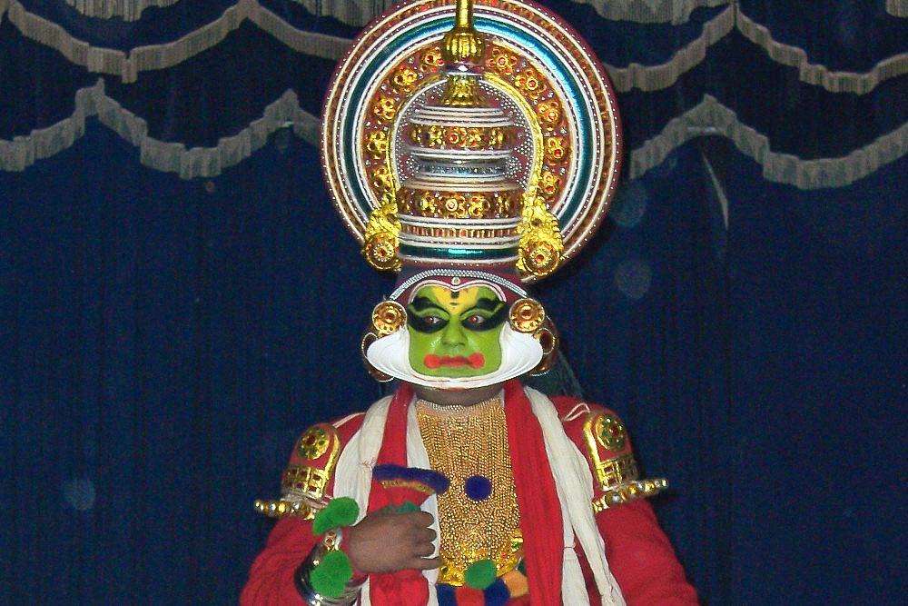 1 Kerala Indien Kathakali