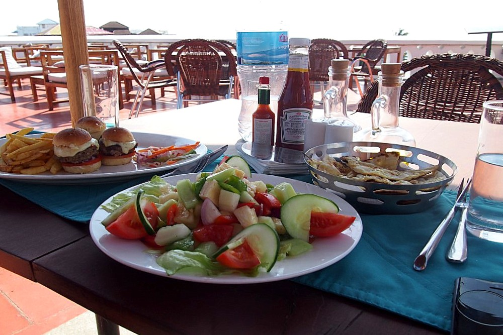 Essen in Sansibar