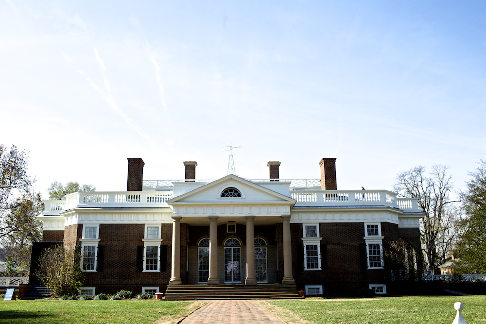 10. USA Virginia Thomas Jefferson Monticello