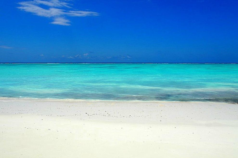 Strand auf Sansibar
