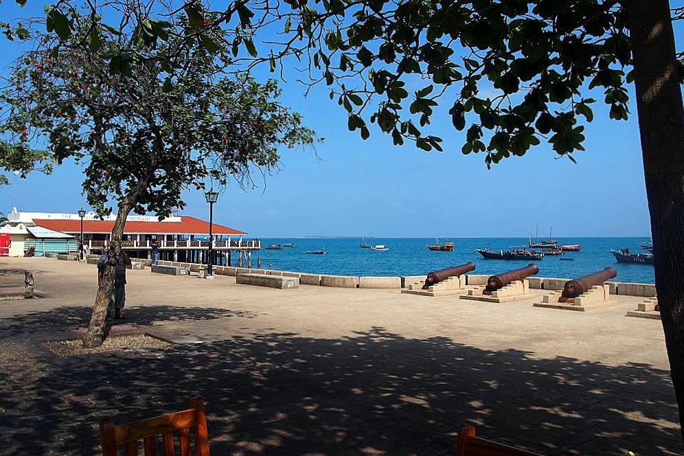 Hafenpromenade Sansibar