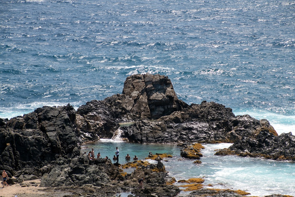 Aruba Karibik Natural Pool