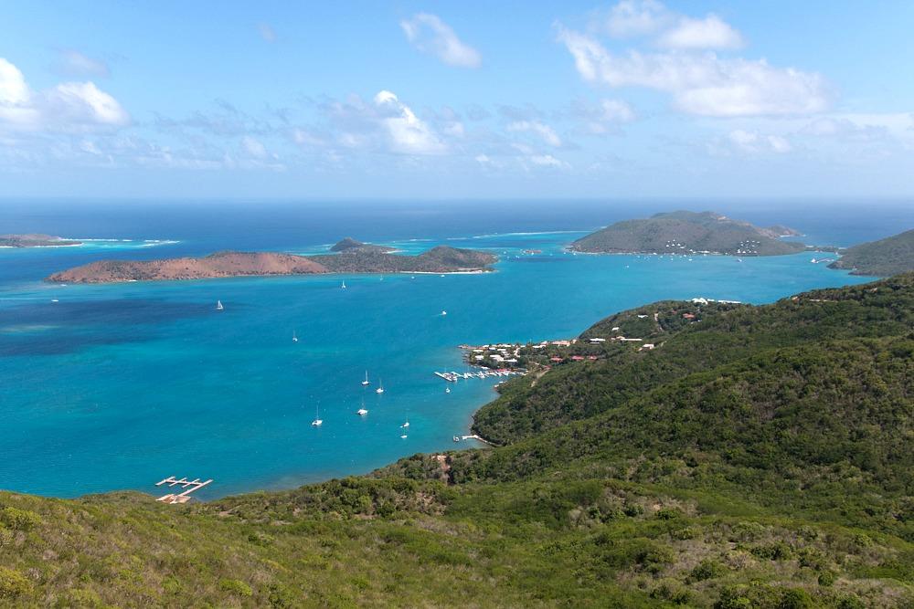 Ausblick Britische Jungferninseln