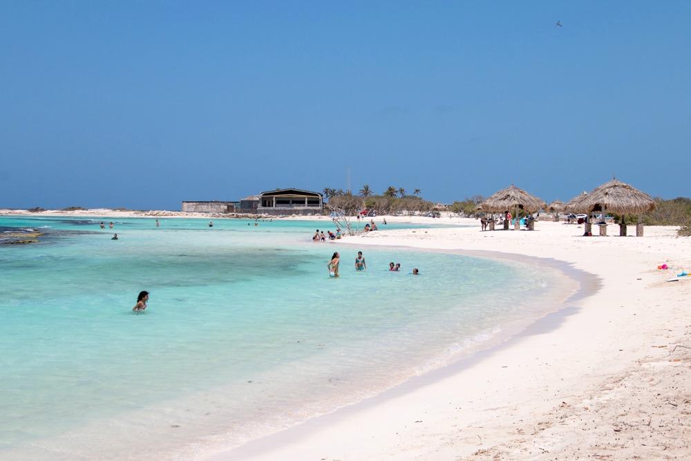 Baby Beach Aruba Caribbean