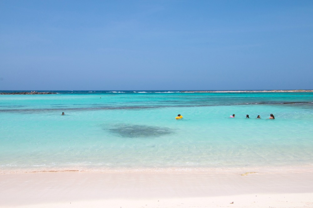 Baby Beach Aruba Karibik