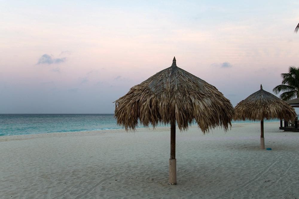 Druif Beach Traumstrände Aruba Karibik