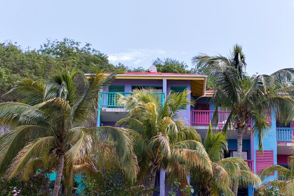 Haus bunt Karibik