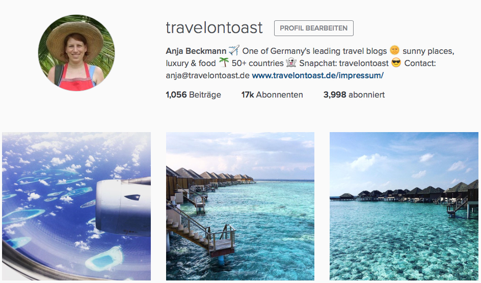 Instagram Reiseblog Reiseblogger travel blog travel blogger