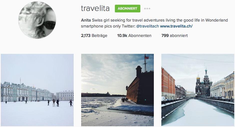 Instagram Reiseblog Travelita
