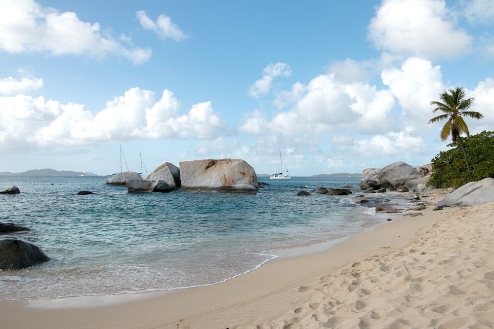 Karibik Virgin Gorda Strand The Baths Reiseblog