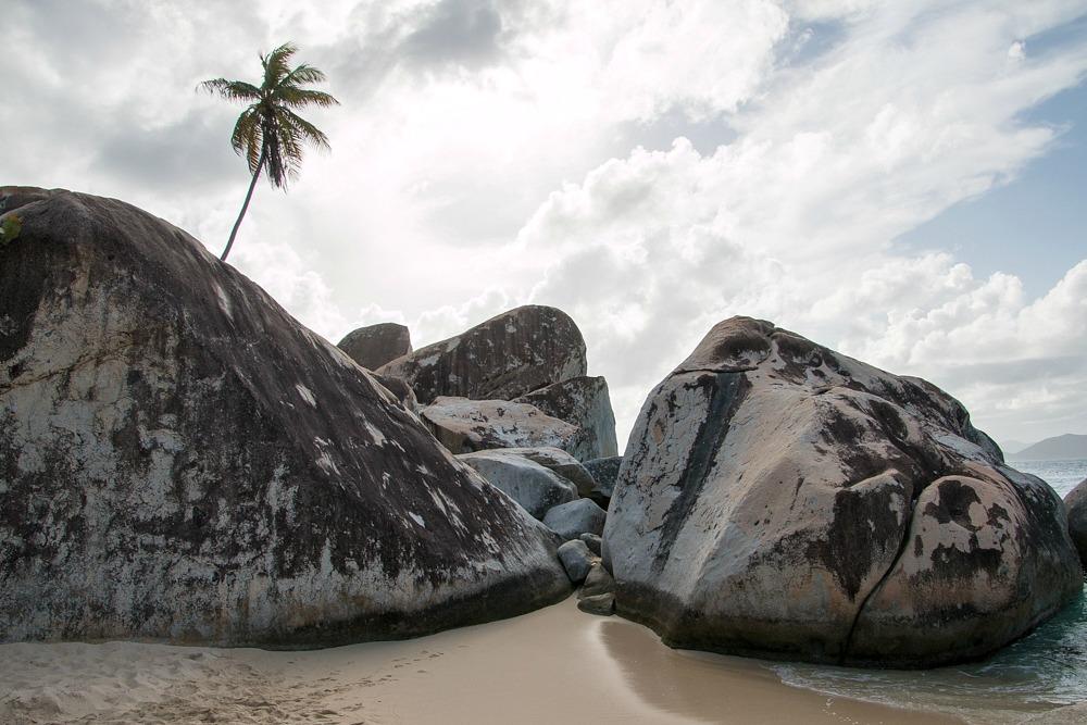 Karibik Virgin Gorda Strand The Baths Reiseblogger