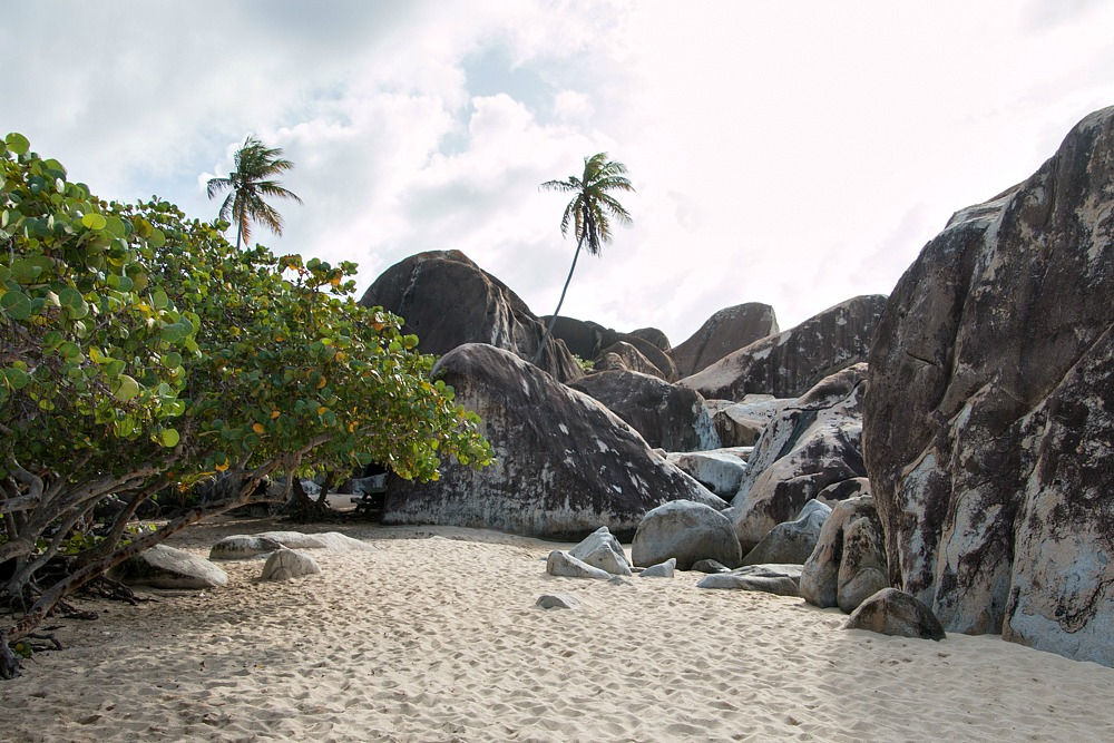 Karibik Virgin Gorda Strand The Baths