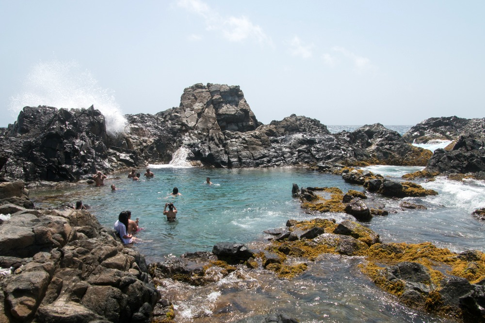 Natural Pool Aruba Karibik