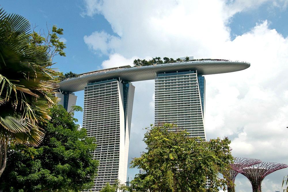 Singapore Marina Bay Sands Hotel Luxury Travel Blog