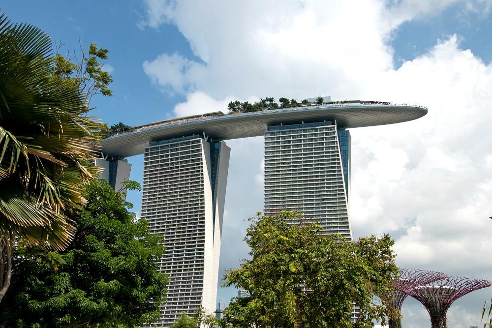 Singapur Singapore Marina Bay Sands Hotel