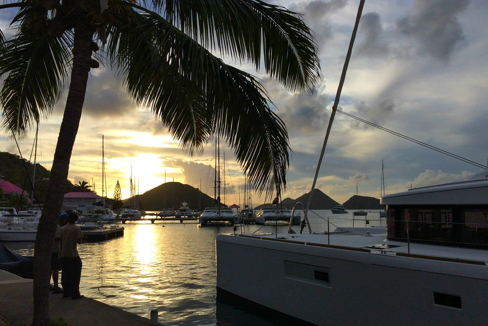 Sonnenuntergang Segeln British Virgin Islands Karibik Reiseblogs