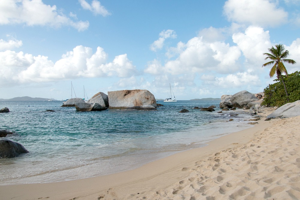 The Baths Beach British Virgin Islands