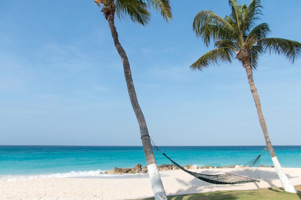 Traumstrände Aruba Karibik